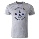 Tottenham Distressed Graphic Men's Fashion T-Shirt (Gray)