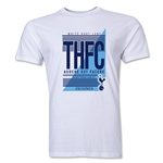 Tottenham THFC Men's Fashion T-Shirt (White)