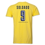 Tottenham Soldado Men's Fashion T-Shirt (Yellow)
