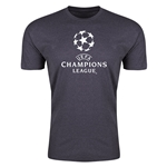 UEFA Champions League Men's Fashion T-Shirt (Dark Gray)