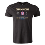 UEFA Champions League Winners Men's Premium T-Shirt (Black)
