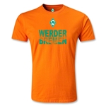Werder Bremen Graphic Men's Fashion T-Shirt (Orange)