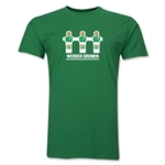 Werder Bremen Foosball Men's Fashion T-Shirt (Green)