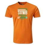 Werder Bremen SVWB Men's Fashion T-Shirt (Orange)