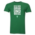 Werder Bremen I Am Green And White Men's Fashion T-Shirt (Green)