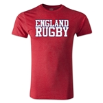 England Supporter Rugby T-Shirt (Heather Red)