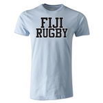 Fiji Supporter Rugby T-Shirt (Sky)