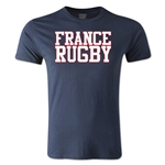 France Supporter Rugby T-Shirt (Navy)
