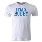 Italy Supporter Rugby T-Shirt (White)