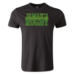 Jamaica Supporter Rugby T-Shirt (Black)