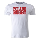 Poland Supporter Rugby T-Shirt (White)