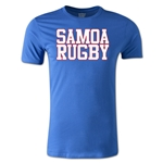 Samoa Supporter Rugby T-Shirt (Royal)