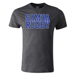 Samoa Supporter Rugby T-Shirt (Dark Gray)