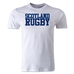 Scotland Supporters Rugby T-Shirt (White)