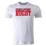 Singapore Supporter Rugby T-Shirt (White)