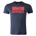 Singapore Supporter Rugby T-Shirt (Navy)