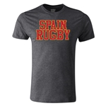 Spain Supporter Rugby T-Shirt (Dark Gray)