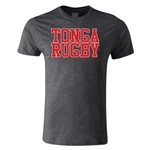 Tonga Supporter Rugby T-Shirt (Dark Gray)
