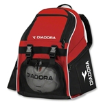 Diadora Junior Squadra Backpack (Red)