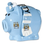 Manchester City Small Scarf Piggy Bank
