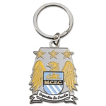 Manchester City Crest Key Ring