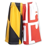 Maryland Flag Sublimated Short