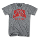 Objectivo Gunners North London Till I Die T-Shirt
