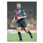 Icons Pep Guardiola Signed Barcelona El Capitan Photo