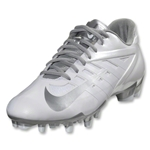 Nike Vapor Pro Low Lax (White/Metallic Silver)