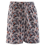 Under Armour Howie Dewdat Lacrosse Shorts (Black)