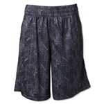 Under Armour Boy's Howie Dewdat Lacrosse Shorts (Black)
