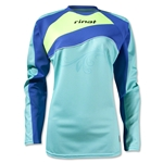 Rinat Women's Christina LS Goalkeeper Jersey (Teal)