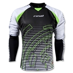 Rinat Circuit Long Sleeve Goalkeeper Jersey (Blk/Wht)