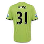 Aston Villa 12/13 HERD Away Soccer Jersey