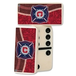 Chicago Fire Double-Six Domino Set