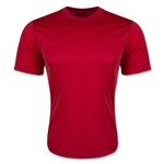 Moisture Wicking Poly T-Shirt (Red)