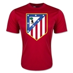 Atletico Madrid Crest Training T-Shirt (Red)