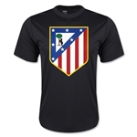 Atletico Madrid Crest Training Jersey (Black)
