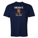 Chelsea Crest Training T-Shirt (Navy)