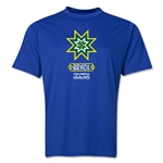 Brazil Copa America 2015 Banderas Training T-Shirt (Royal)