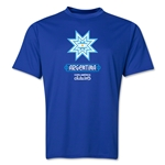 Argentina Copa America 2015 Banderas Training T-Shirt (Royal)
