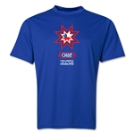 Chile Copa America 2015 Banderas Training T-Shirt (Royal)