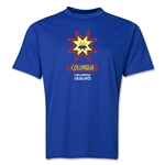 Colombia Copa America 2015 Banderas Training T-Shirt (Royal)