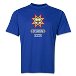 Ecuador Copa America 2015 Banderas Training T-Shirt (Royal)