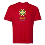 Bolivia Copa America 2015 Banderas Training T-Shirt (Royal)