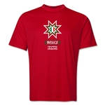 Mexico Copa America 2015 Banderas Training T-Shirt (Royal)