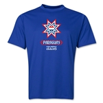 Paraguay Copa America 2015 Banderas Training T-Shirt (Royal)