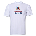 Copa America 2015 Core 1 Portrait Training T-Shirt (White)