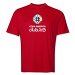 Copa America 2015 Core 1 Portrait Training T-Shirt (Red)