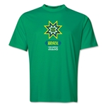 Brazil Copa America 2015 Banderas Training T-Shirt (Green)